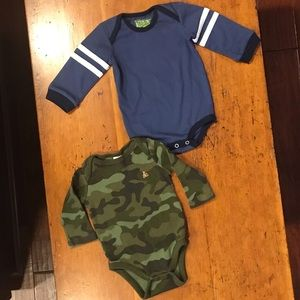 Baby Gap and Kapital K boys bodysuits